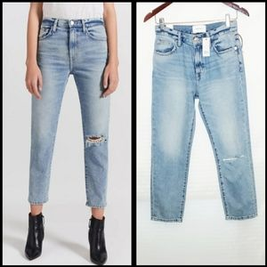 NWT CURRENT ELLIOT VINTAGE CROPPED JEANS